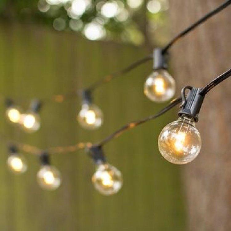 48' Strands of Outdoor Bistro Lights