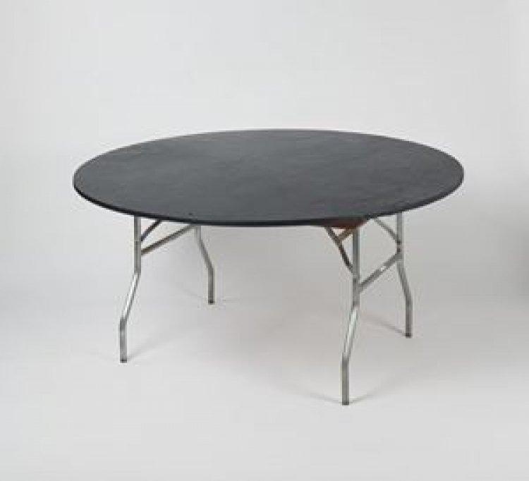 5' Round Kwik Cover - Black