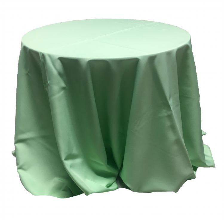 108 Round Polyester Linen
