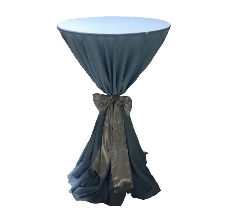 132 Round Polyester Linen