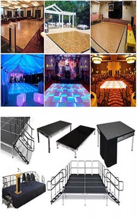 Staging / Dance Floor Rentals