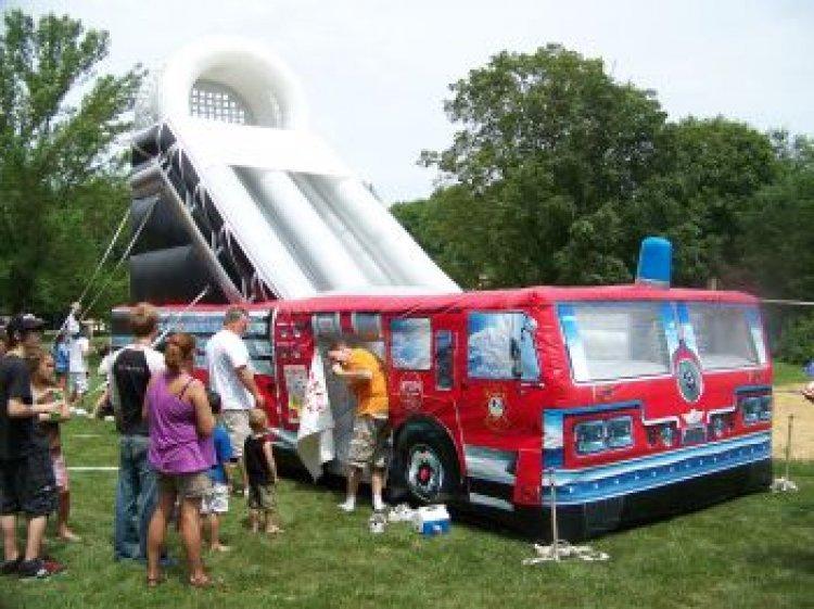 Firetruck Slide