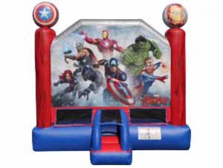 Marvel Avenger's Bounce House