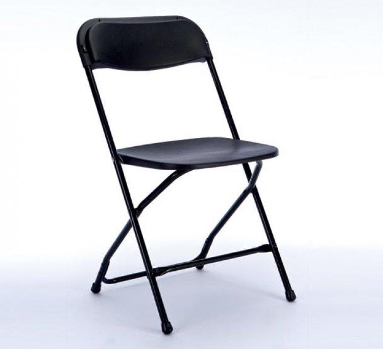 Chairs Black Folding