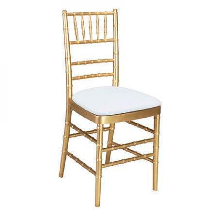 Chair, Gold Chiavari