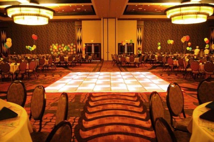 LED Dance Floor 16'x16'