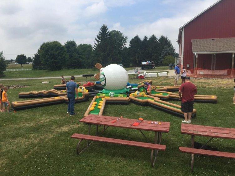 Inflatable Putt Putt Golf